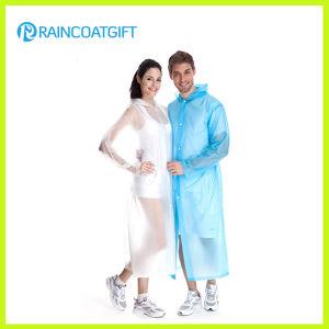 Transparent PVC Rain Coat Rvc-017A pictures & photos