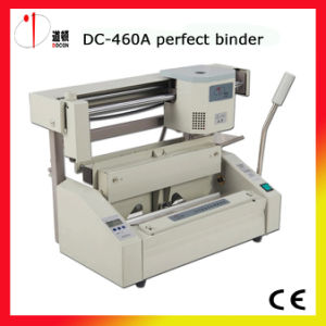 DC-460A A3 Manually Hot Melt Glue Binding Machine pictures & photos