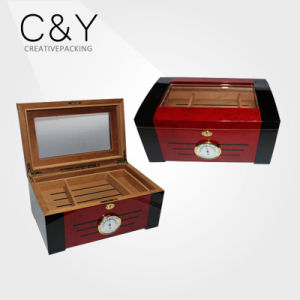 Wholesale Wood Cigars Box with Cuba and Spanish Cedar (25-50cigars) pictures & photos