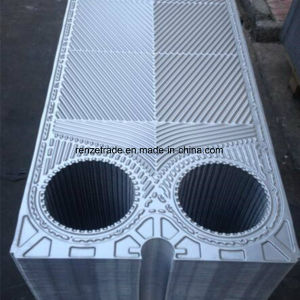 Industrial Power Plant Cooling Application Gasketed Plate Heat Exchanger Flow Channel Plate pictures & photos