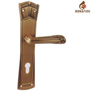 High Quality Full Zinc Door Lock Handle-057 pictures & photos