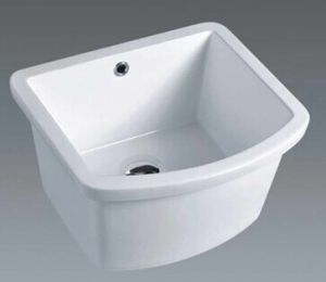 Bathroom Sanitary Ware Ceramic Laundry Tub (E001) pictures & photos
