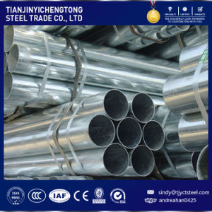 Q235 Hot Dipped Galvanized Steel Pipe with PE Ends pictures & photos