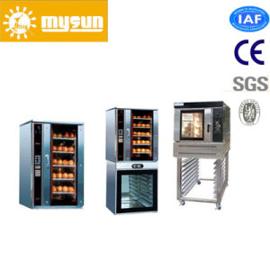 3/5/10 Trays Stainless Steel Gas Convection Oven in Bakery equipment pictures & photos