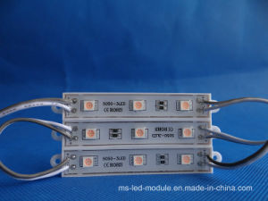 Hot Selling RGB Injection LED Module 5050 Waterproof pictures & photos
