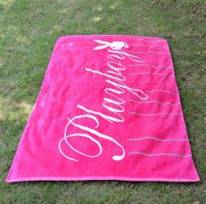 Portable 100% Cotton Beach Towel pictures & photos