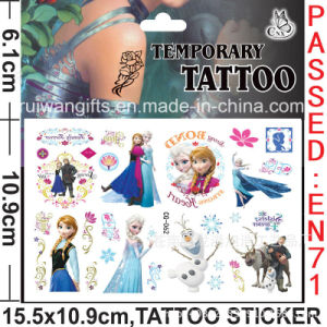 Wholesale Temporary Cartoon Tattoo for Gilrs (cg062) pictures & photos