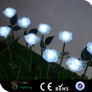 Artificial Flower LED Rose Light pictures & photos
