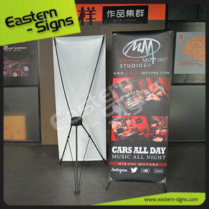Digital Printing X Banner Model for Sales