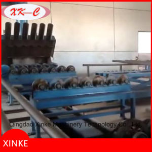 Steel Pipe Sand Blasting Cleaning Machine pictures & photos