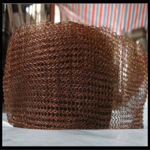 Copper Vapor-Liquid Filter Knitted Wire Mesh pictures & photos