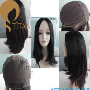 Remy Human Hair Jewish Wig Front Lace Wig for Women