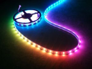 Super Brightness Dream Color LED Strip SMD 5050 6803 IC Flexible LED Strip Tape pictures & photos