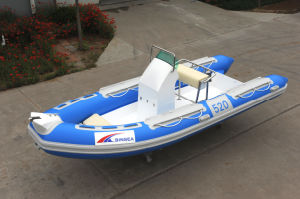 Boat with CE (RIB520A)