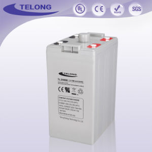 Maintenance Free Deep Cycle Solar Battery 2V500ah for Power Supply pictures & photos