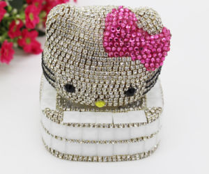 2016 Hello Kitty Design Glass Rhinestone Sticker Promotion Gift Sticker for Crafts (TS-546) pictures & photos