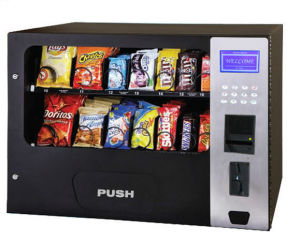 Snack Cans Drink Food Vending Machine with 14 Channels pictures & photos