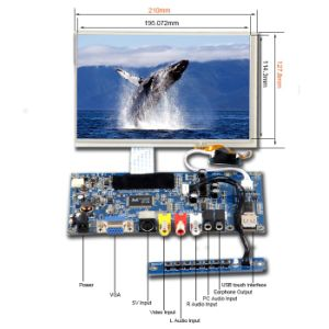 "8.9"" Display LCD Module with Touchscreen for Security Application pictures & photos"