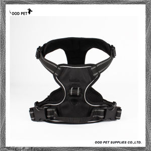 Adjustbale Back or Front Range Pull Vest Padded Dog Harness with Reflective Stitching for Adventure Outdoor Activities Sph9023 pictures & photos
