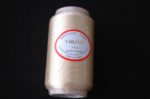 450D Cotton Pure Gold Metallic Yarn (S-TYPE) pictures & photos