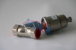 Q3-Pneumatic Angle Seat Valve Thread Ends pictures & photos