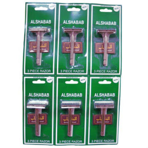 Metal Handle Safety Razor, Comes in 3 Pieces pictures & photos