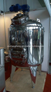 Stainless Steel Heating Agitator Tank pictures & photos