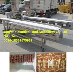 Automatic Skewer Machine/ Satay Meat Skewer Machine pictures & photos