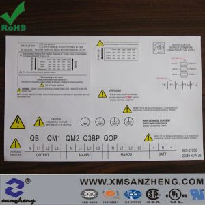 Caution and Warning Adhesive Sticker (SZ14012) pictures & photos