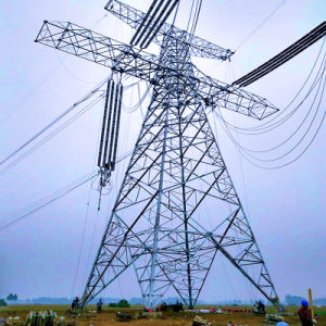 500kv Single Circuit Corner Power Transmission Steel Tower pictures & photos