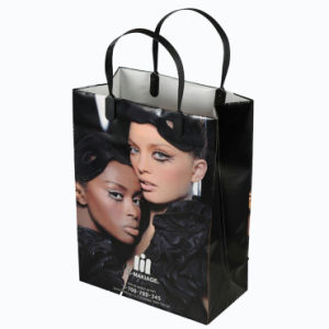 Hot Sale Custom Printed Clip Handle HDPE Bags for Promotional (FLC-8111) pictures & photos