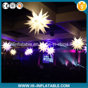 Event Hanging Decoration Use LED Lighting Inflatable Star with Customized Color for Sale