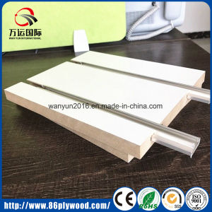 Melamine MDF / Slotted MDF Board with Aluminum pictures & photos
