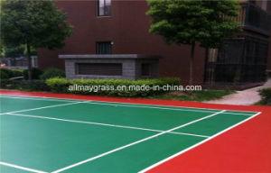 Seamless Indoor Flooring Silicon PU Basketball Court Sport Surfacer