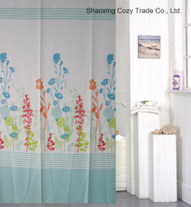 Plant Design Fabric Shower Curtain pictures & photos