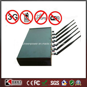 6 Antenna High Power Adjustable Phone Jammer WiFi GPS Jammer pictures & photos