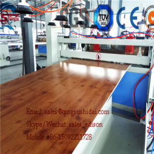 Template Making Machine PVC Board Production Line Construction Board Making Line pictures & photos