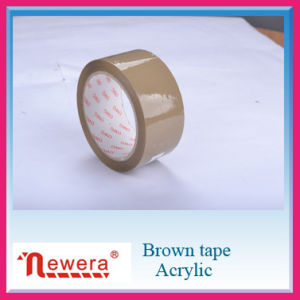 Single Sided and Acrylic Adhesive BOPP Brown Packing Tape pictures & photos