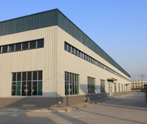 Prefabricated Sandwich Wall Panel Steel Structural Workshop pictures & photos