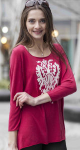 Women′s Patterned Cashmere Pullover Sweater (1500002092) pictures & photos