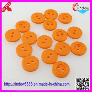 Plastic Orange Children Button pictures & photos