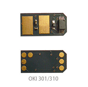 Toner Chip for Oki C301/301/C321 pictures & photos