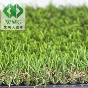 Fake Grass 30mm Landscaping Artificial Turf U Shape Grass pictures & photos