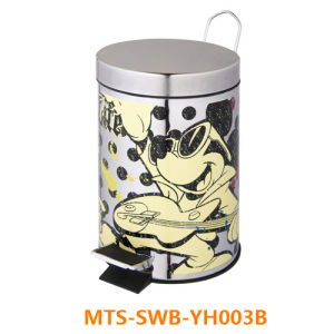 Stainless Steel Trash Can/ Waste Bin/ Dustbin/ Trash Can/ Recycle Bin/ Garbage Bin pictures & photos