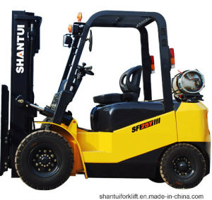 3 Ton 3.5 Ton Gasoline LPG Forklift pictures & photos