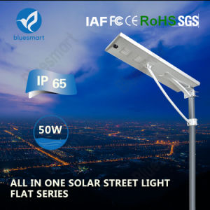 Ce IP65 Approved High Lumen Solar Street Lights in China pictures & photos