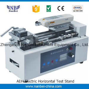 Digital Electric Horizontal Test Stand for Cable pictures & photos