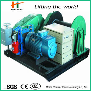 Electric Power Winch with Big Capacity pictures & photos