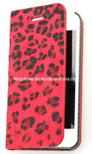 Fashion and Best Selling Leather for iPhone 5 Case (KCI07-2) pictures & photos