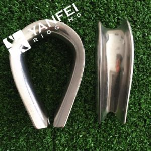 Stainless Steel G411 Us Type Thimble for Wire Rope pictures & photos